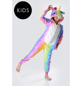 Onesie (Kids) - Rainbow Unicorn