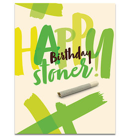 Card - Happy Birthday Stoner