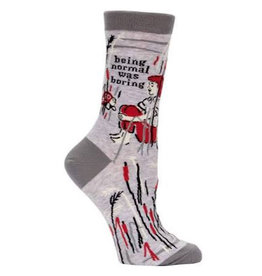 Socks (Womens) - Being Normal Was Boring