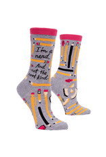 Socks (Womens) - Im A Nerd And Not The Cool Kind