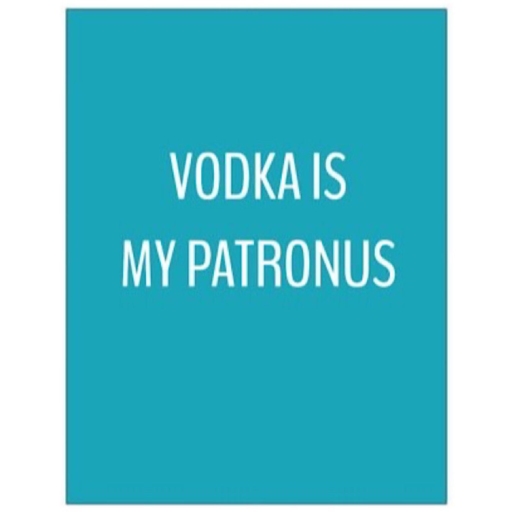 Bad Annie's Card #050 - Vodka Is My Patronus