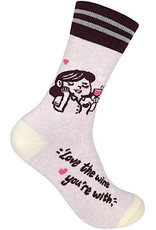 Socks (Unisex) - Love The Wine You're With