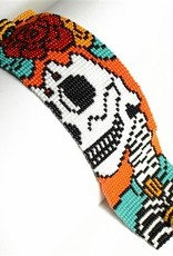 Enchanted Imports Bracelet - Skull Beaded