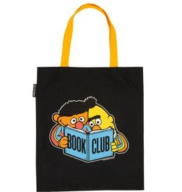 Out Of Print Tote - Bert and Ernie Book Club