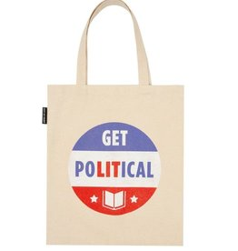 Out Of Print Tote - Get Political