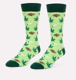 Headline Socks (Mens) - Joints and Brownies