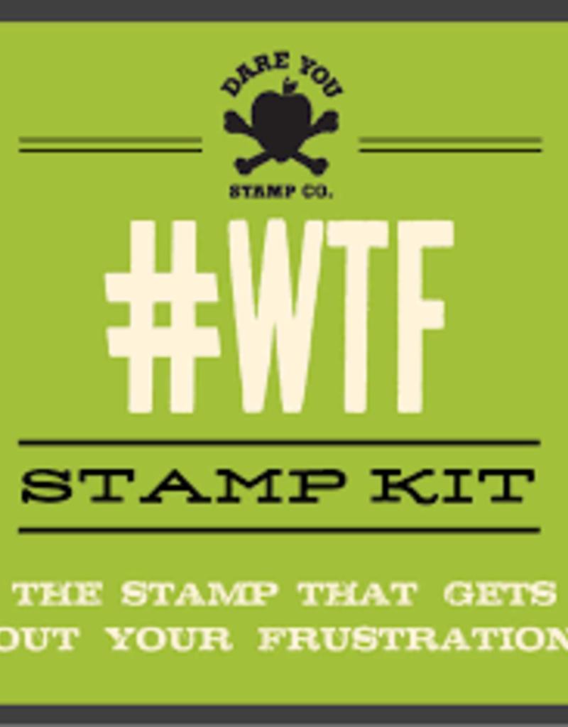 Simon & Schuster Stamp - WTF