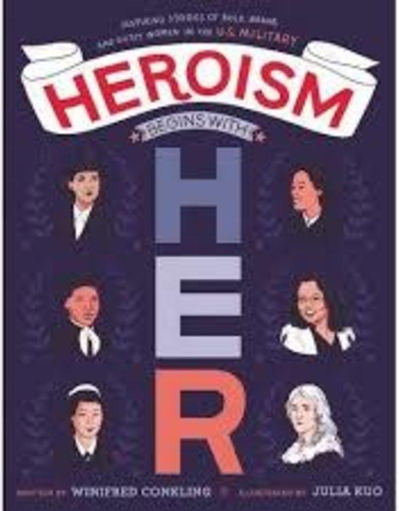 Harper Collins Book - Heroism Begins With Her