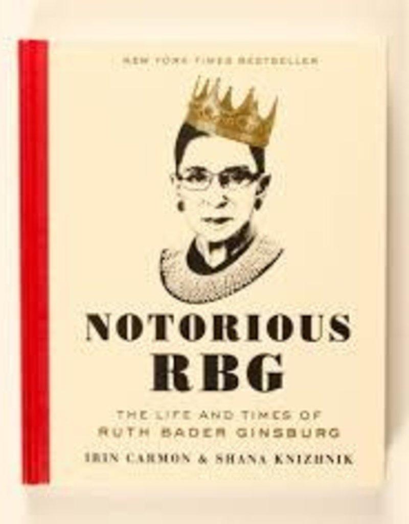 Harper Collins Book - Notorious RBG - Ruth Bader Ginsburg
