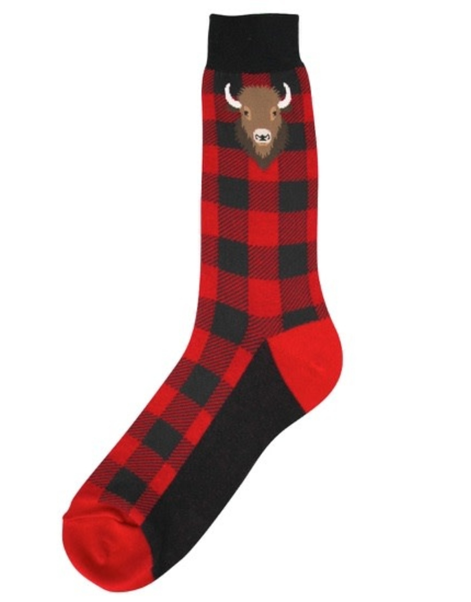 Socks (Mens) - Buffalo Plaid