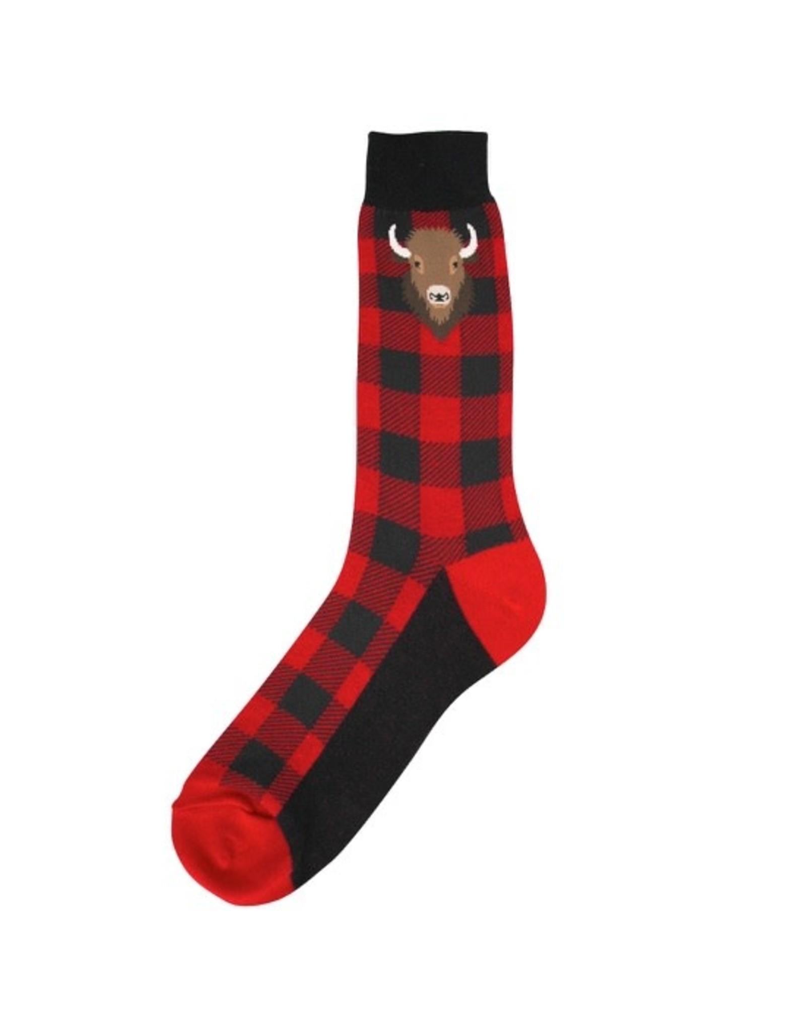 Socks (Mens) - Buffalo Plaid