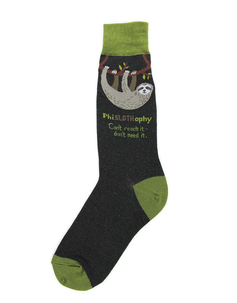 Socks (Mens) - PhiSLOTHophy (Sloth)