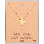 Necklace - Michigan (Gold)
