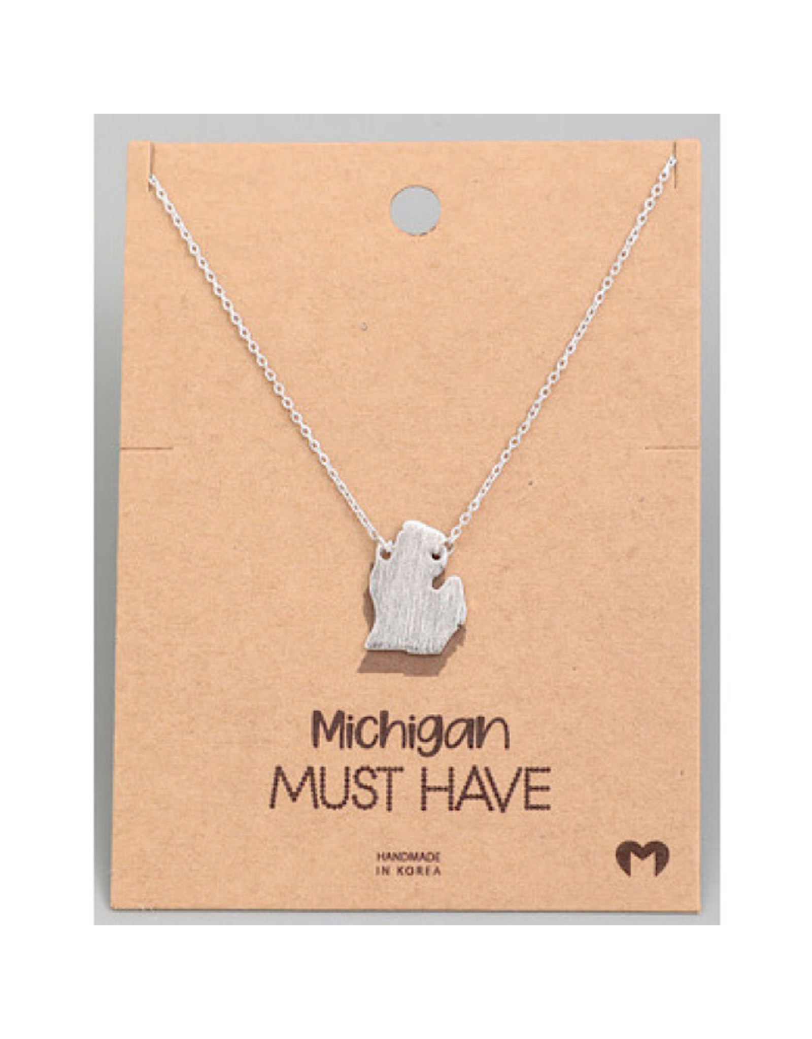 Necklace - Michigan (Silver)