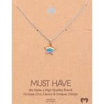 Necklace - Rainbow Star (Silver)