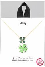 Necklace - Four Leaf Clover (Gold)