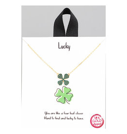 Necklace - Four Leaf Clover (Gold)