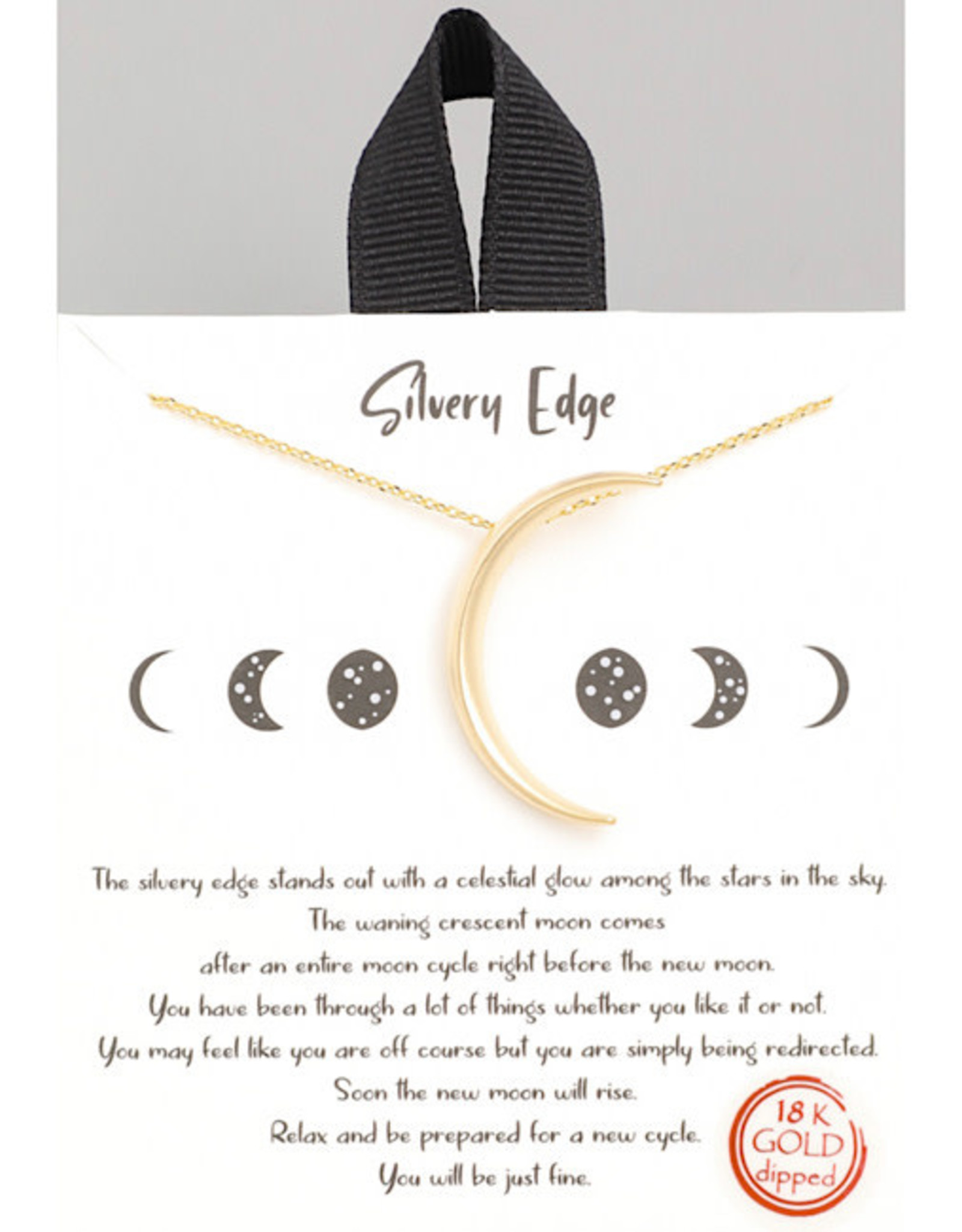 Necklace - Crescent Moon (Gold)