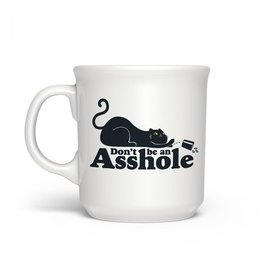 Mug - Don't Be An Asshole (cat)
