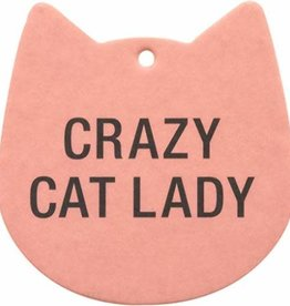 Air Freshener (2 Pack) - Crazy Cat Lady
