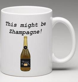 Mug - This Might Be Zhampagne!