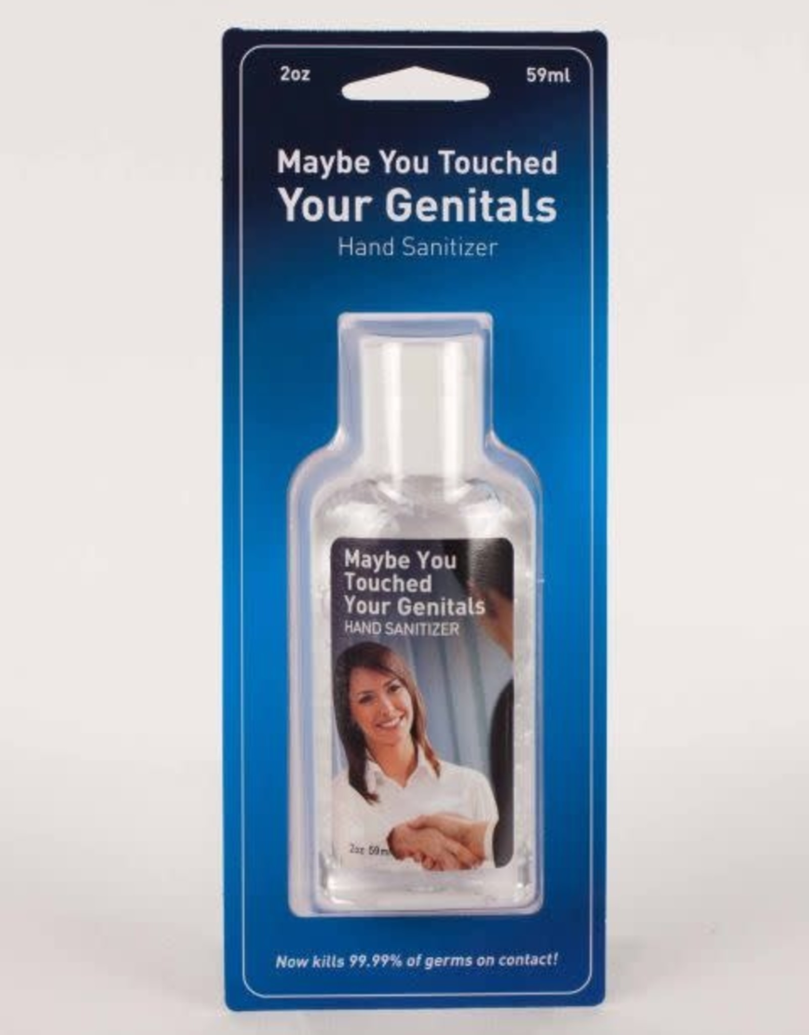 Sanitizer - Maybe You Touched Your Genitals