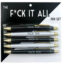 Pen Set - Fuck It All