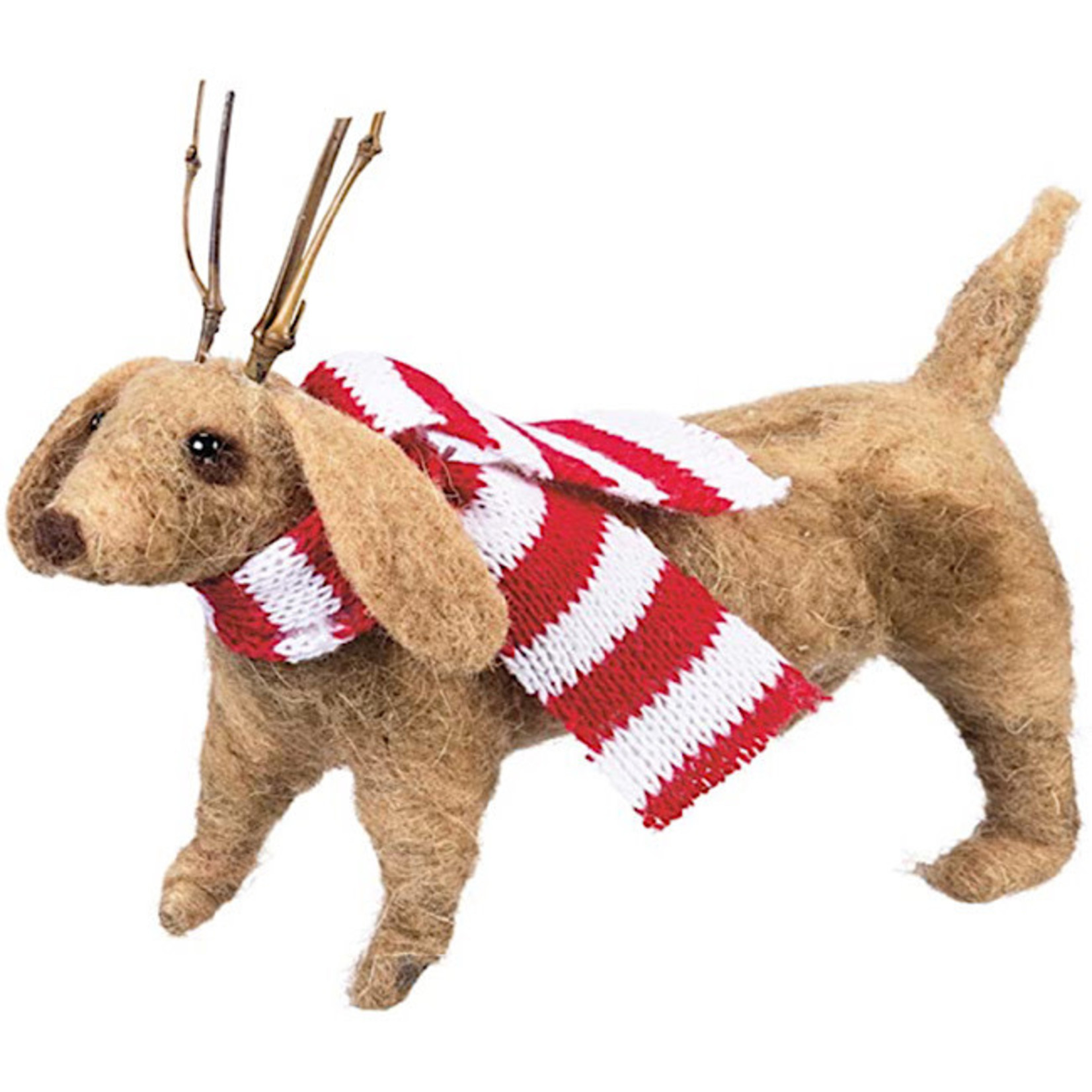 Ornament - Dachshund With Antlers