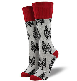 Socks (Womens) - Trees