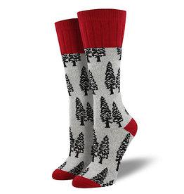 Socks (Womens) - Trees