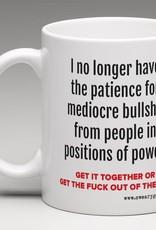 Mug - No Longer Have Patience, Destroy White Supremacy