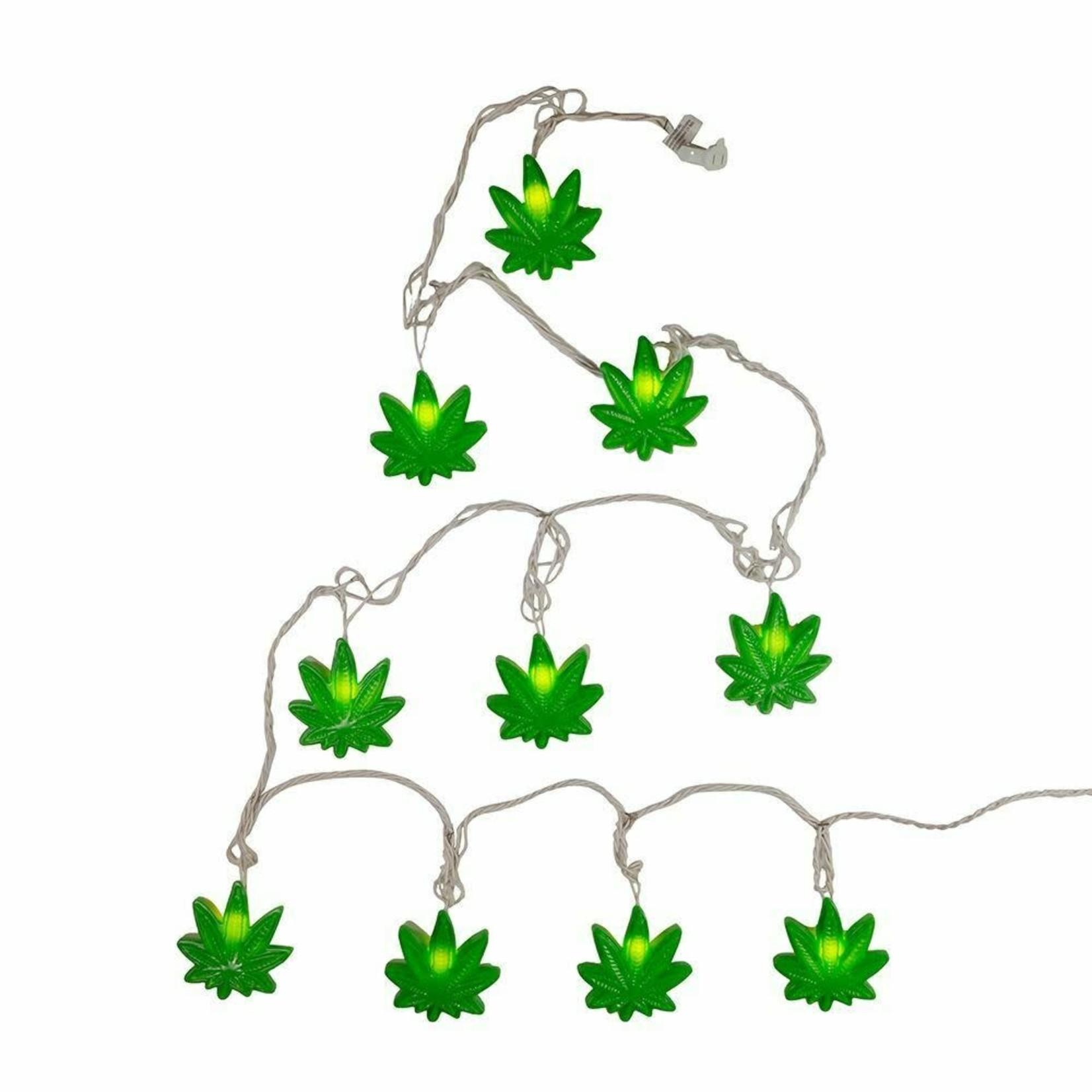 Light Set - Cannabis Leaf