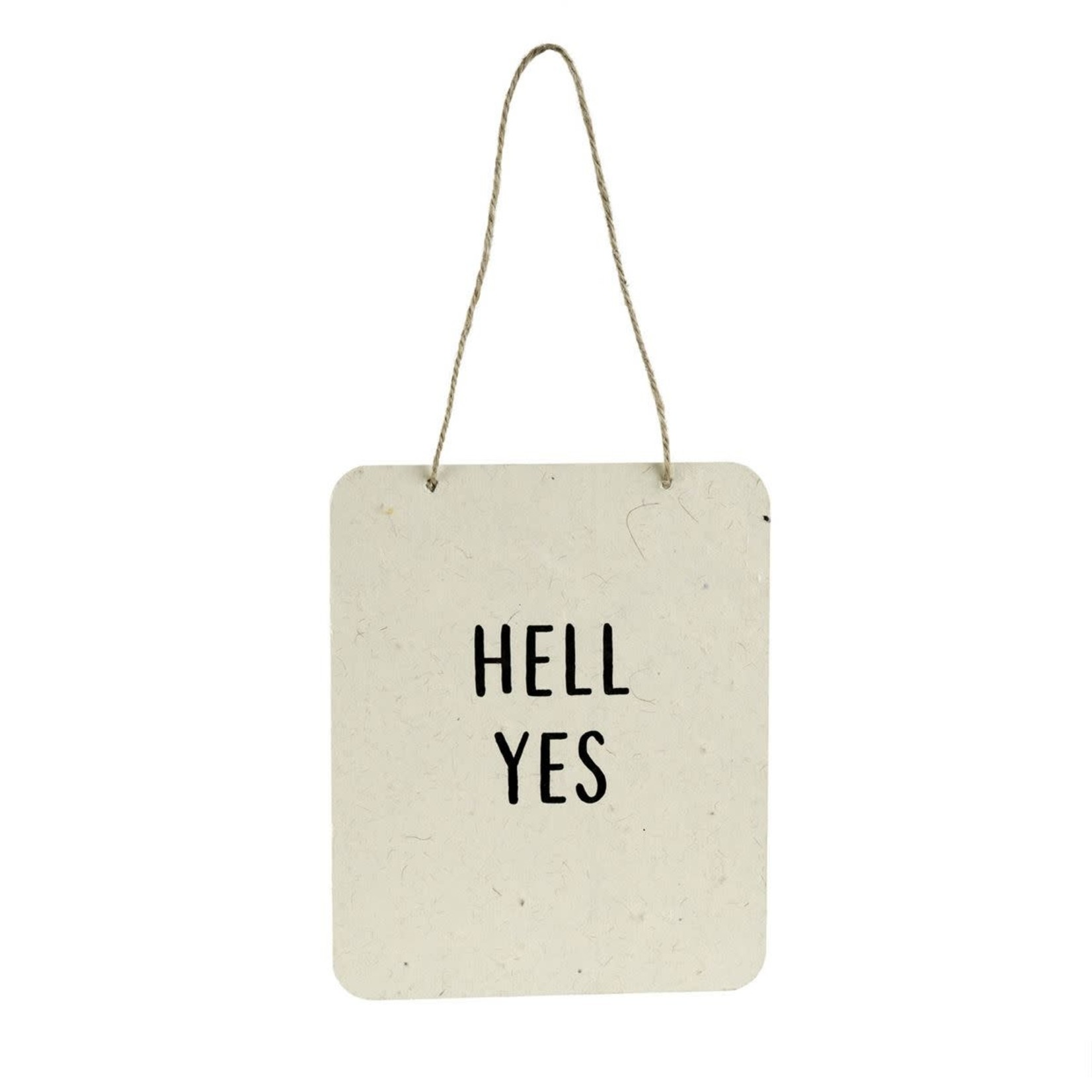 Sign (Wall) - Hell Yes