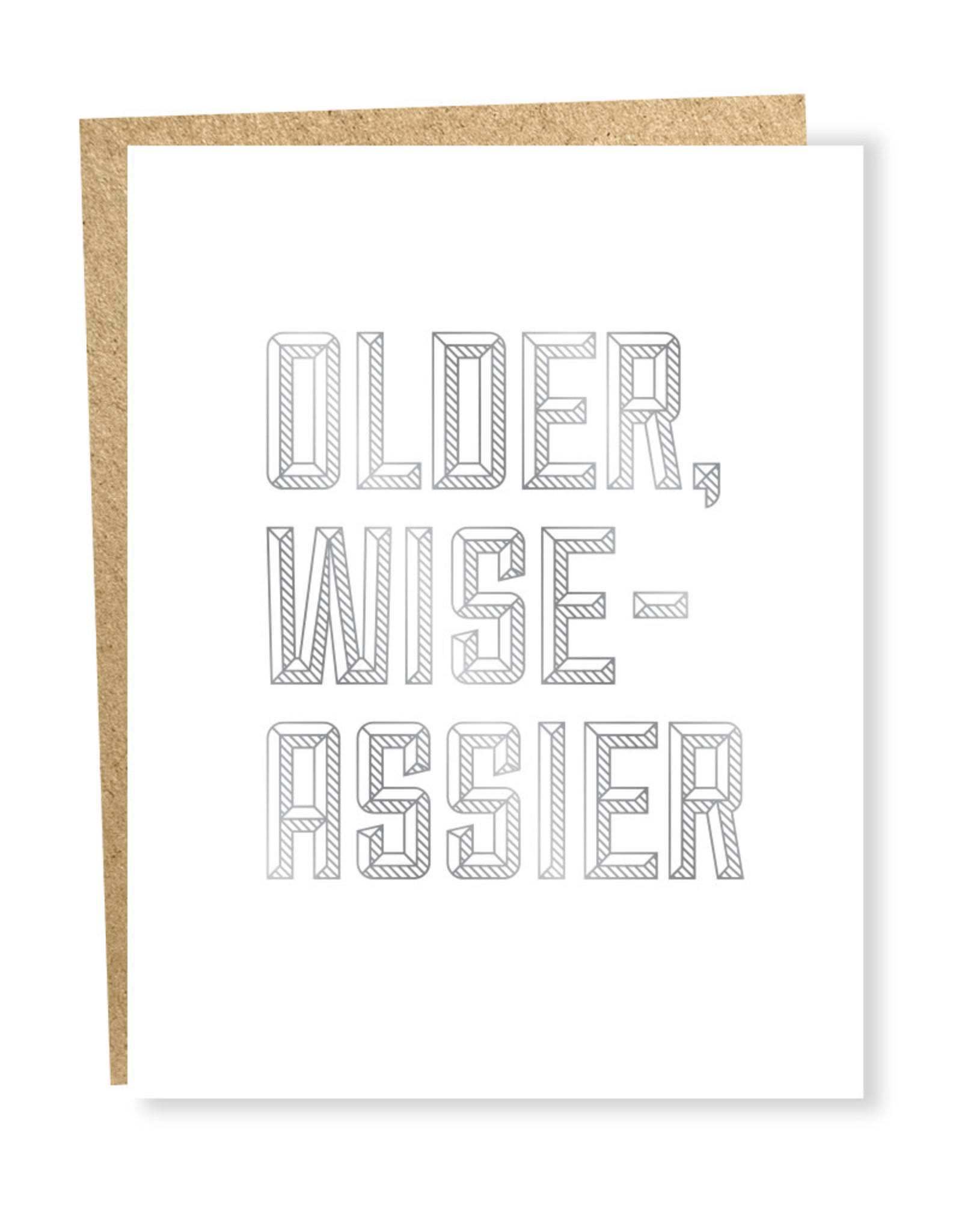 Card - Older, Wise-Assier