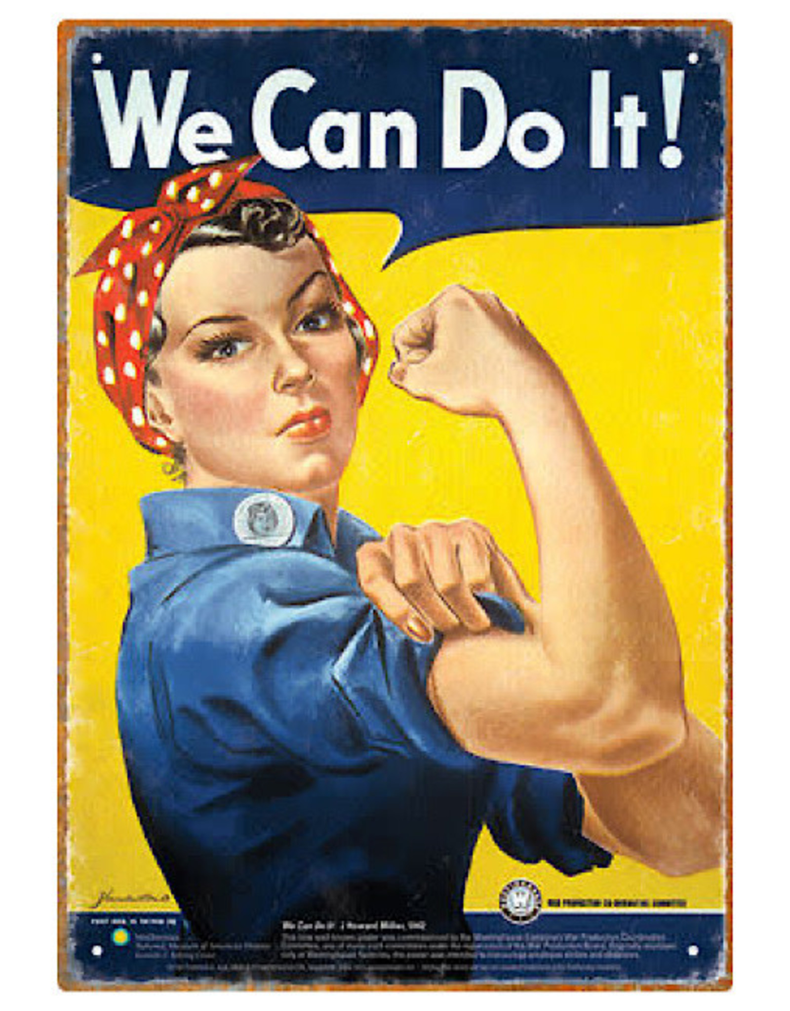Sign (Wall) - Rosie The Riveter