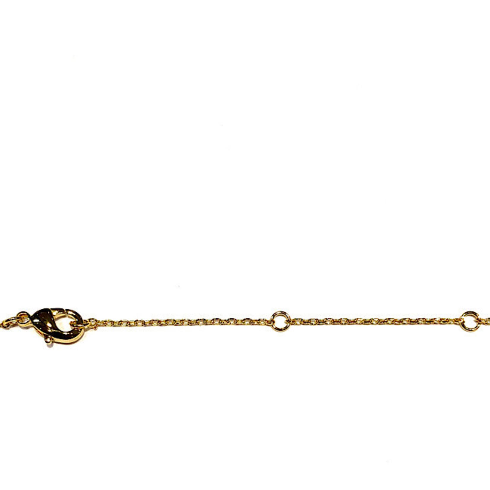 "Necklace - Bitch (Gold) (16"" + 2"" EXT.)"