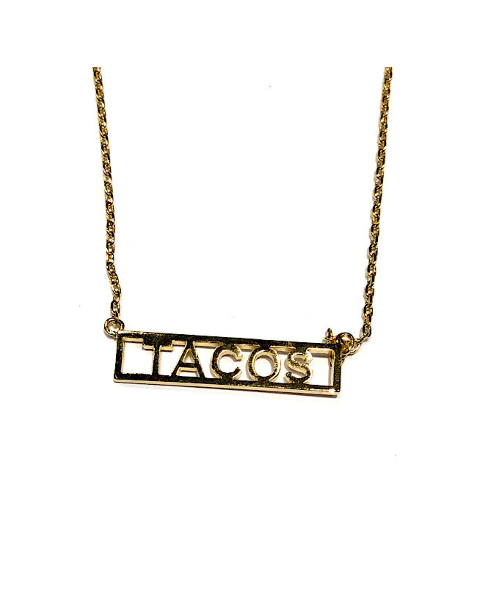 Necklace - Tacos (Gold)