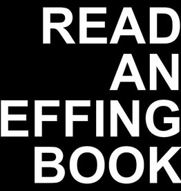 Odin And Osgar Sticker - Read An Effing Book