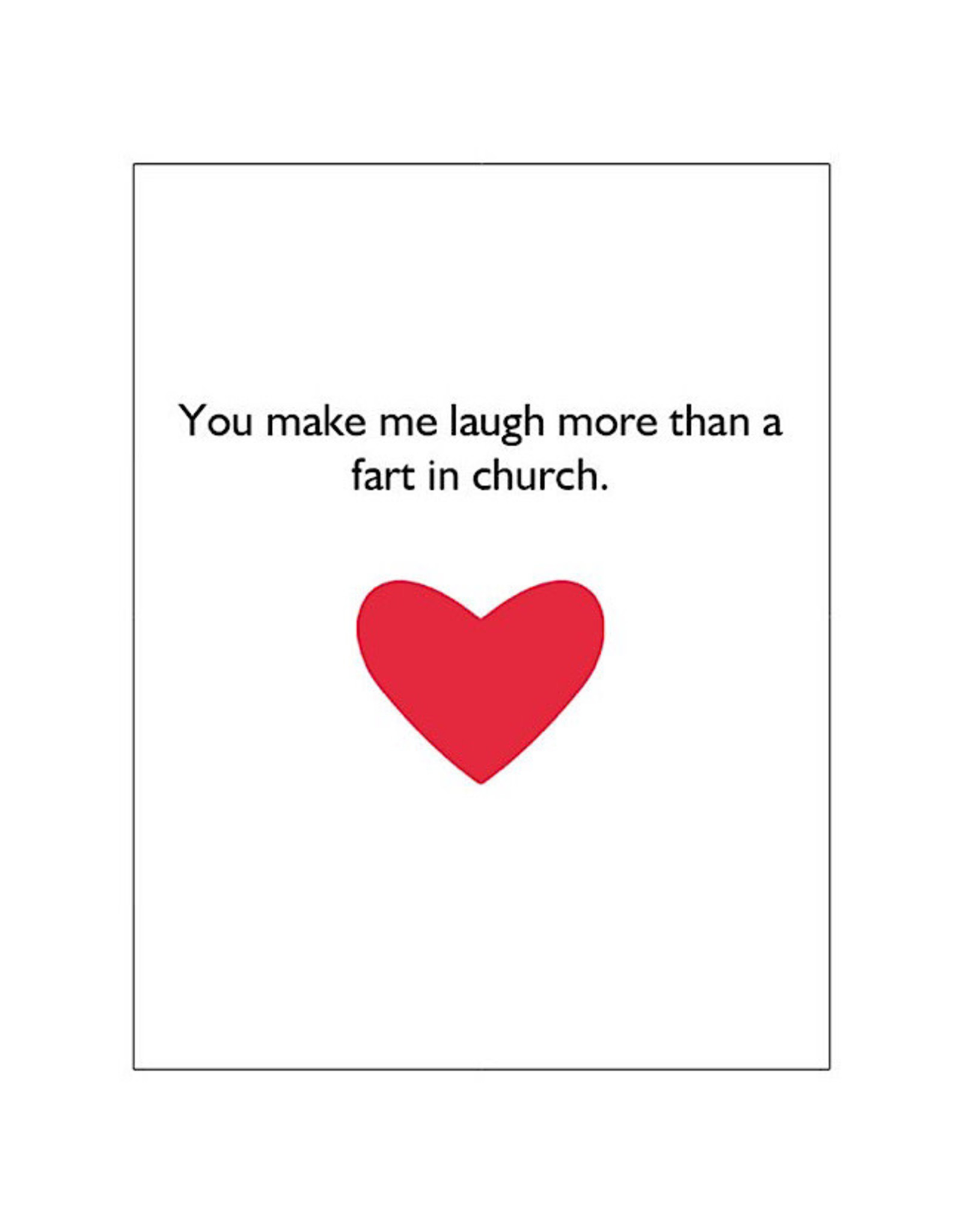 Card #102 - Fart In Church