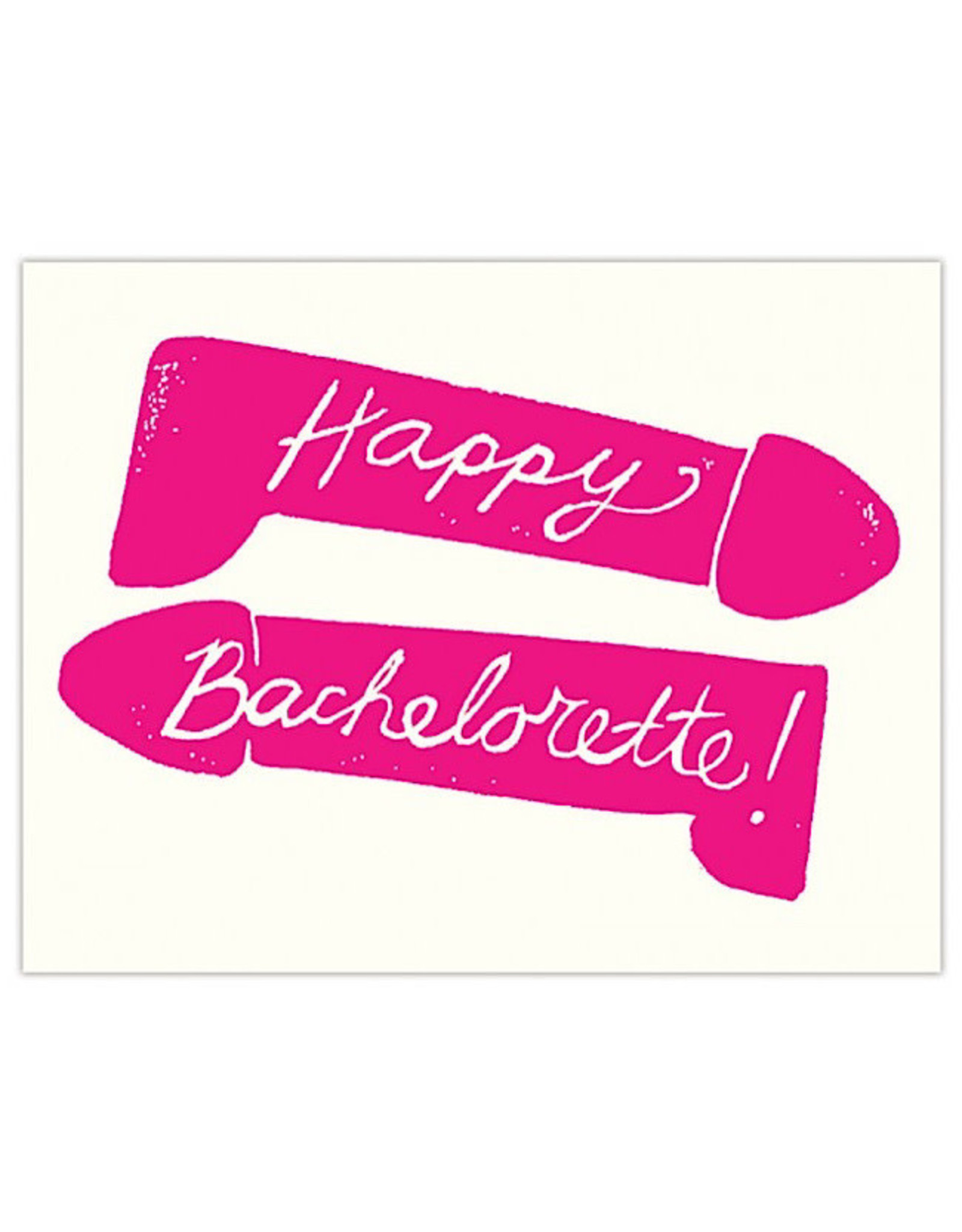 Card - Happy Bachelorette Penis