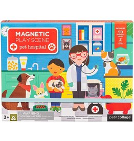 Magnetic Play Scene - Pet Hospital
