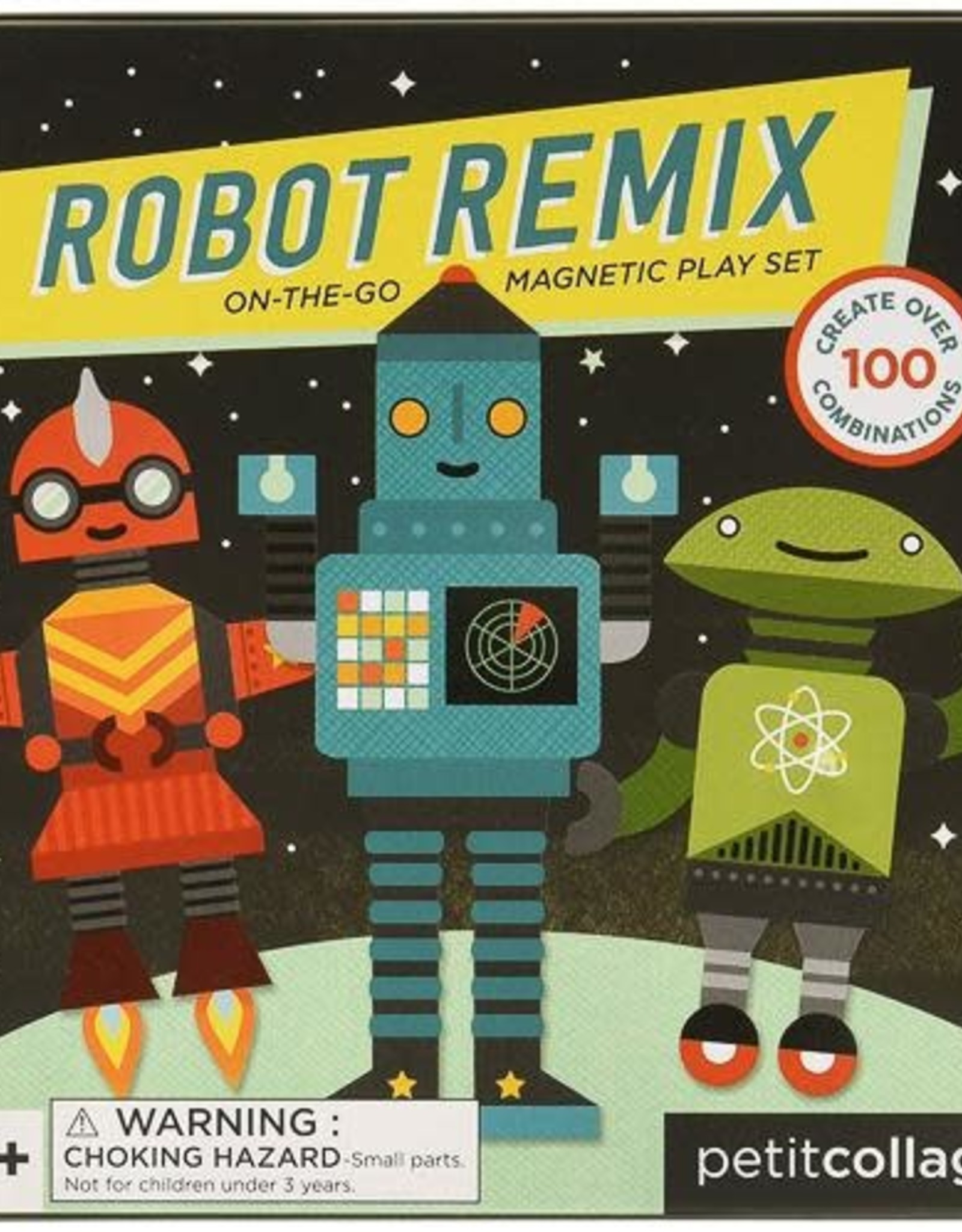 Robot Remix - Magnetic Tin Robot Travel Set