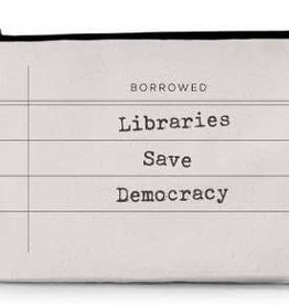 Pouch - Libraries Save Democracy