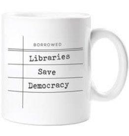 Mug - Libraries Save Democracy
