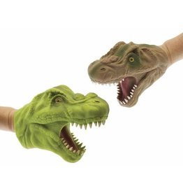 Hand Puppet - Dinosaur (Green or Brown)