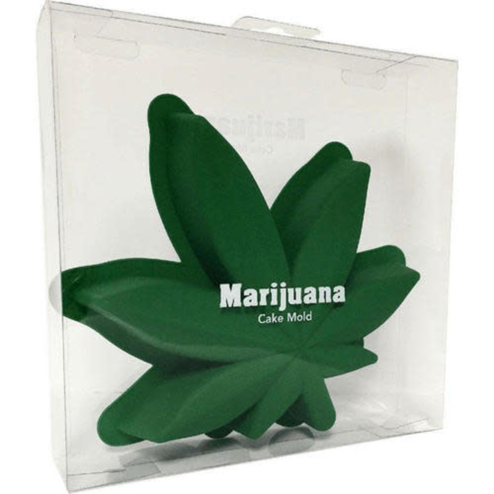 Cake Molds - Marijuana Leaf