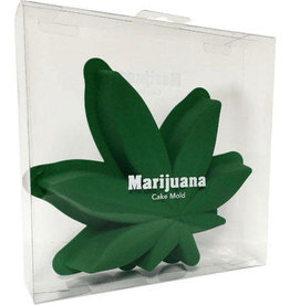Cake Molds - Marijuana Leaf