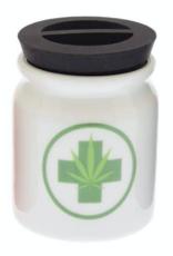 Jars - Stash Jar -  Leaf and Medical Sign