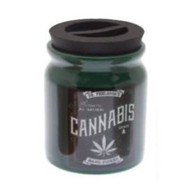 Jars - Stash Jar - Green Cannabis Jar