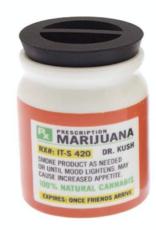 Jars - Stash Jar - Prescription Weed Jar